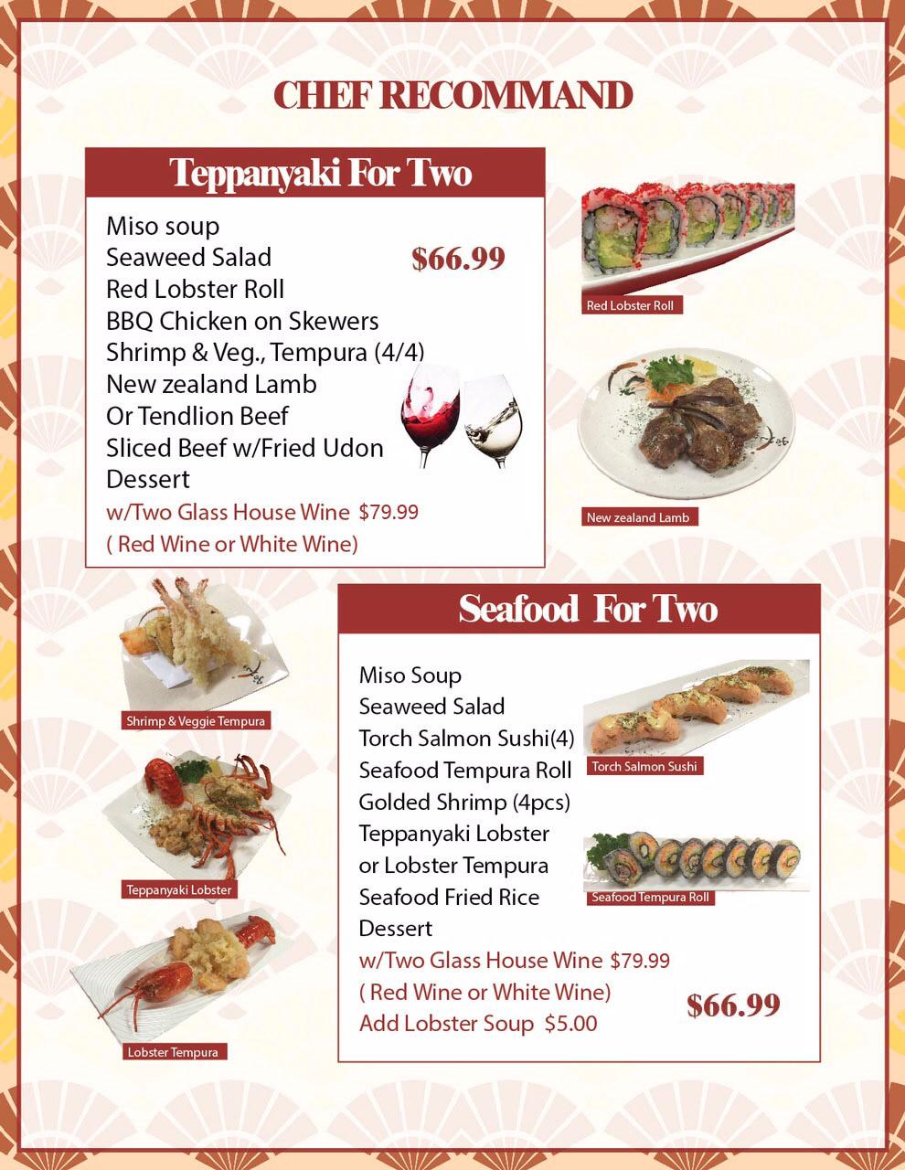Menu-Dine In – Main Sushi